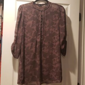Printed blouse SMALL